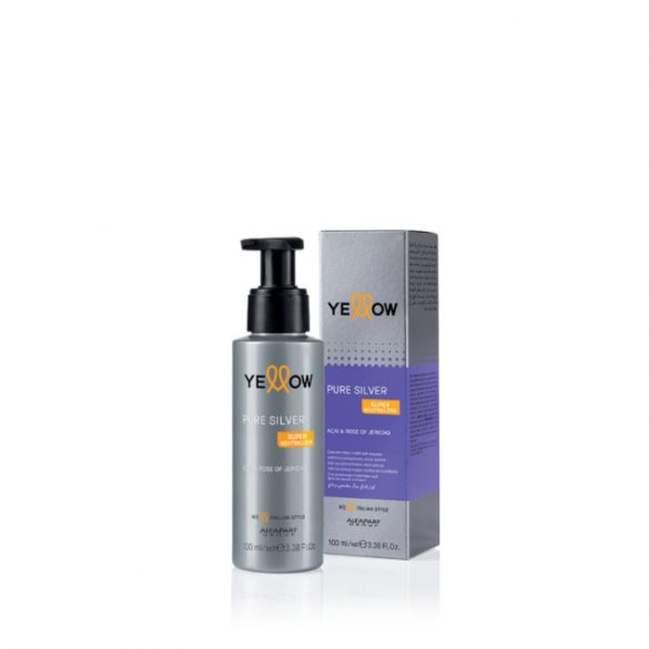 Yellow Pure Silver Violet Ash Booster koncentrátum 100 ml