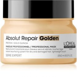 L'Oréal Série Expert Absolut Repair Lipidium pakolás GOLD quinoa+protein erősen igénybevett hajra 250 ml