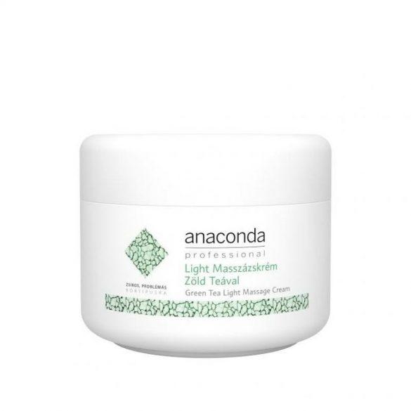 Anaconda light könnyű masszázskrém zöld teával 250 ml