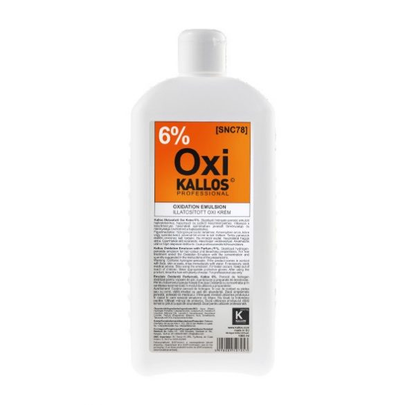 Kallos oxigenta 6% 1000 ml