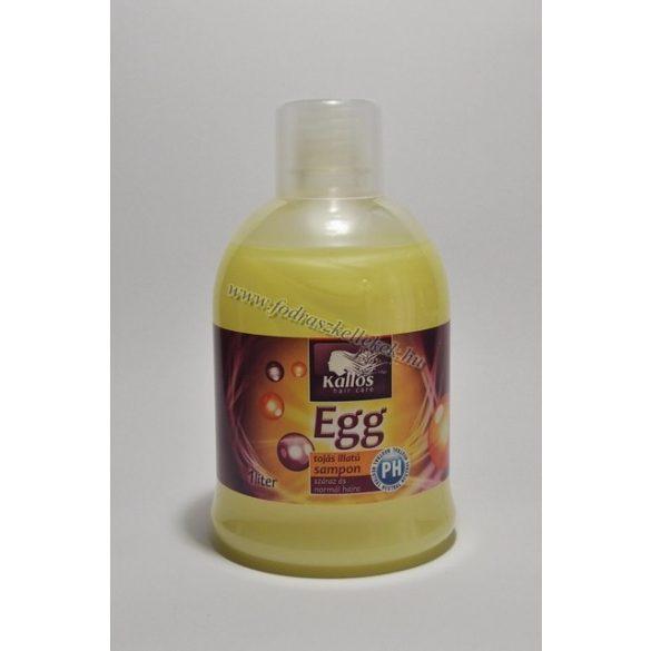 Kallos tojás sampon 1000 ml