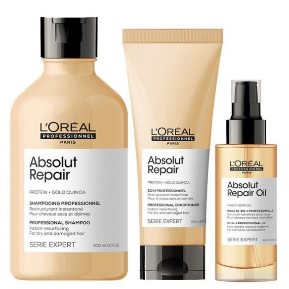 L'Oréal Serie Expert Absolut Repair balzsam erősen igénybevett hajra 200 ml