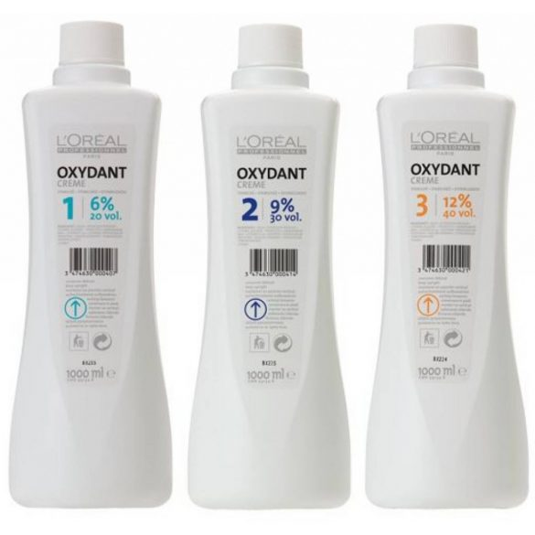 L'Oréal oxydant 6%  75 ml