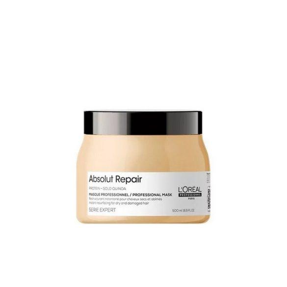 L'Oréal Série Expert Absolut Repair pakolás erősen igénybevett hajra 500 ml