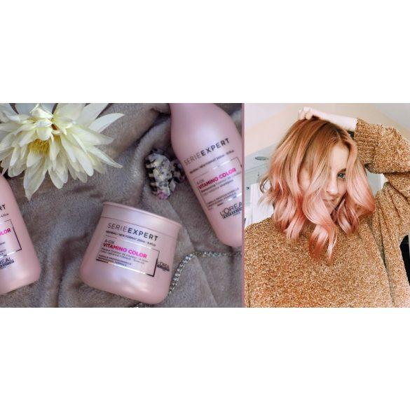 L'Oréal Série Expert Vitamino Color zselépakolás festett hajra 250ml