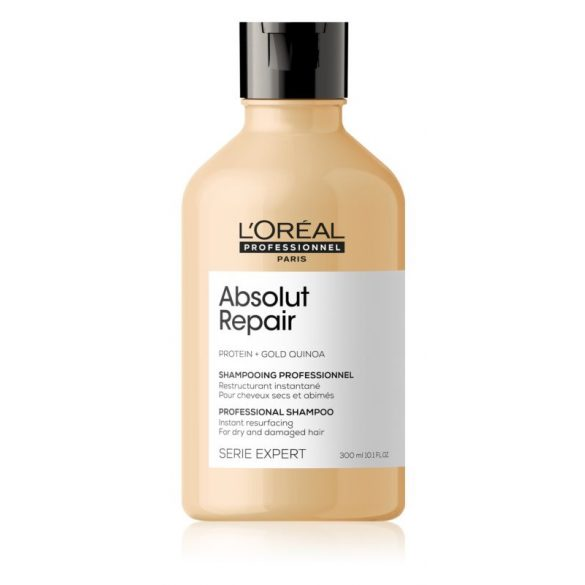 L'Oréal Série Expert Absolut Repair Lipidium sampon erősen igénybevett hajra 300 ml