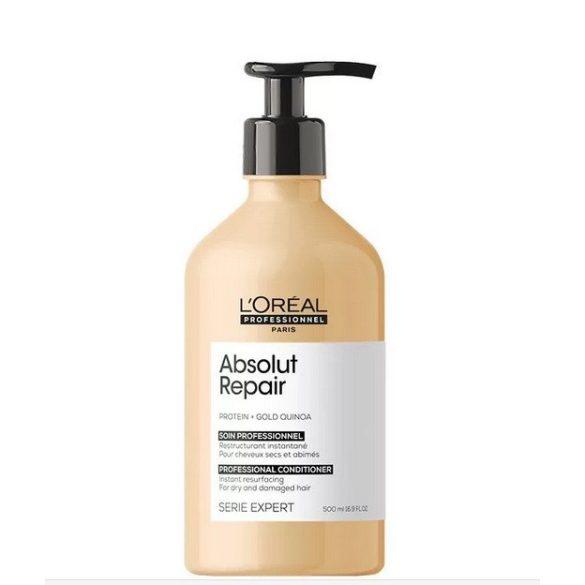 L'Oréal Série Expert Absolut Repair Lipidium sampon erősen igénybevett hajra 500 ml