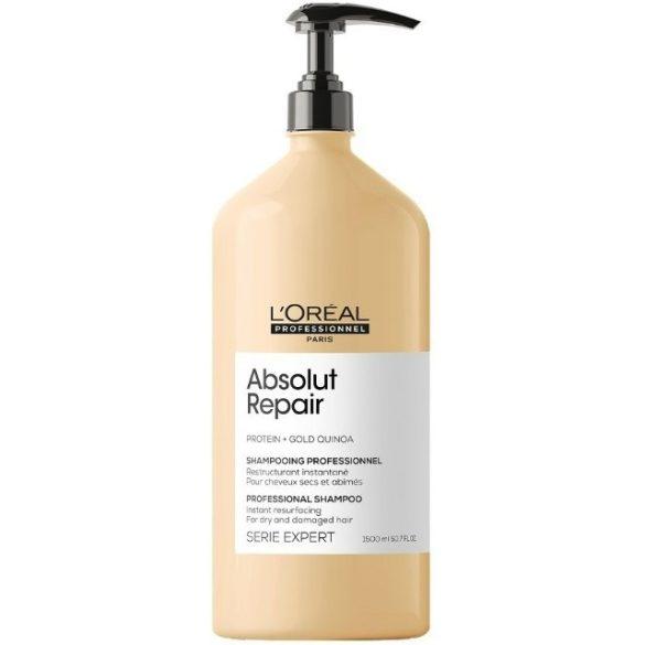 L'Oréal Série Expert Absolut Repair Lipidium sampon erősen igénybevett hajra 1500 ml