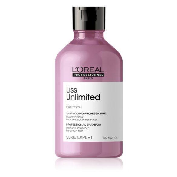 L'Oréal Série Expert Liss Unlimited hajkiegyenesítő sampon 300 ml