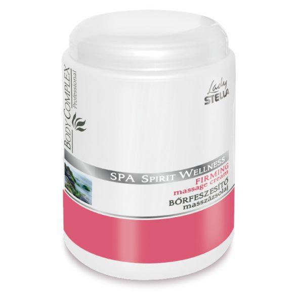 Lady Stella Spa Spirit Wellness bőrfeszesítő masszázs krém kékalga kivonattal 1000 ml
