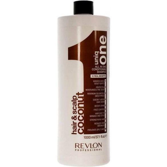 REVLON Uniq One Coconut sampon száraz hajra 1000 ml