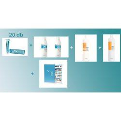 Fanola Krémhajfesték 100 ml 20 db + 2 db 6% Oxigenta 1000 ml + 1 db After Colour sampon 1000 ml + 1 db After Colour Kondicionáló + 1 db színskála