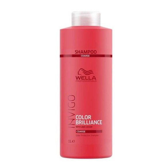 Wella Invigo Color Brilliance  Fine Sampon vékonyszálú festett hajra 250 ml
