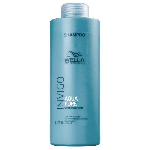 Wella Invigo Aqua Pure mélytisztító sampon zsíros hajra 250ml