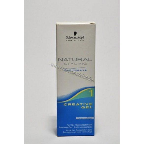 Schwarzkopf Natural Styling Glamour kreatív hajtődauer-zselé 50 ml