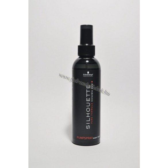 Schwarzkopf Silhouette hajlakk szupererős tartás pumpás 200 ml