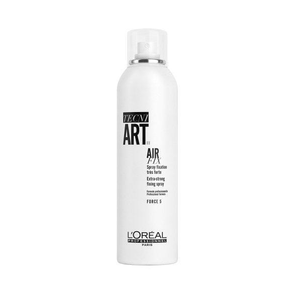 L'Oréal TECNI.ART Air Fix hajlakk teljes rögzítéshez, erős 250 ml