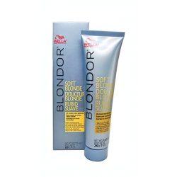Wella Blondor Soft Blonde Cream olajjal kevert gyengéd felvilágosító krém 200 g