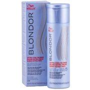 Wella Blondor Extra Cool Powder felvilágosítást és tónust adó por 150 g