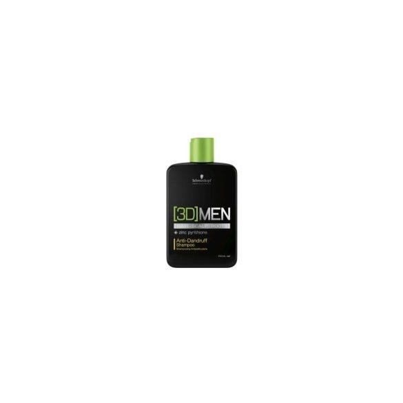 [3D]MENSION Korpásodás elleni hajsampon férfiaknak 250 ml