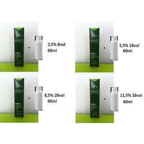 Schwarzkopf Essensity krémes színelőhívó emulzió 60 ml